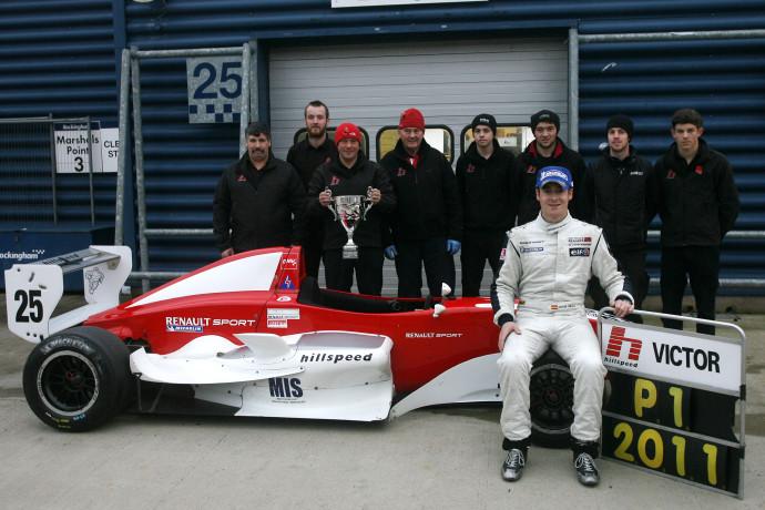 Victor Jiminez (SPA) Hillspeed Formula Renault