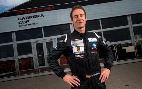 Victor Jimenez named best driver of the Porsche Carrera Cup Great Britain