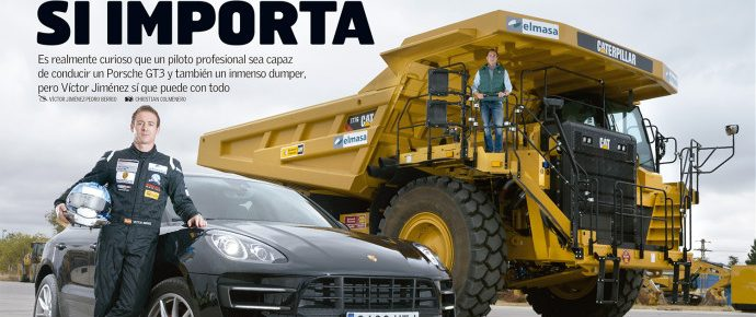 Comparativa Porsche vs Caterpillar en Car & Driver