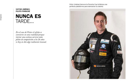 Reportaje sobre Víctor Jiménez en la Revista Christophorus