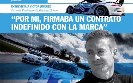 Firt number of the Centro Madrid Porsche Norte Magazine