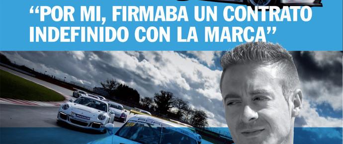 Primer numero de la Revista del Centro Porsche Madrid Norte